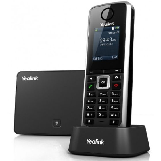 Picture of Yealink SIP-W52P Wireless Dect IP Phone w/Base