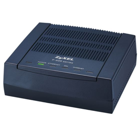 Picture of ZyXEL P660RF1 ADSL, ADSL 2/2+ External Ethernet Modem/Router