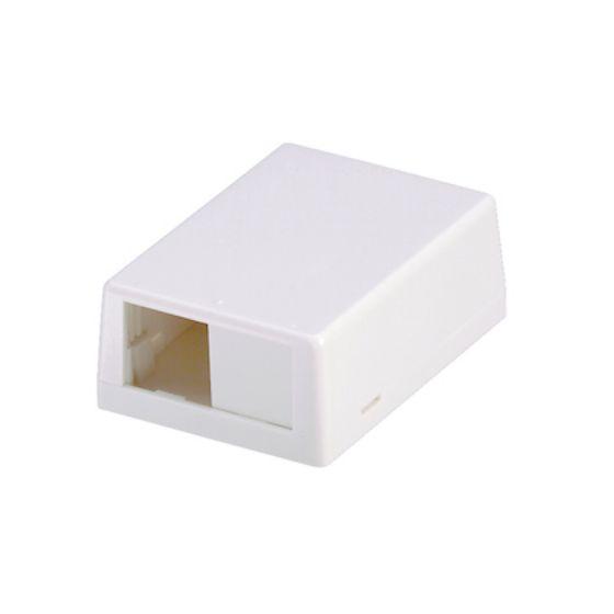 Picture of Panduit CBXJ2IWA  2-Port Mini surf box off white