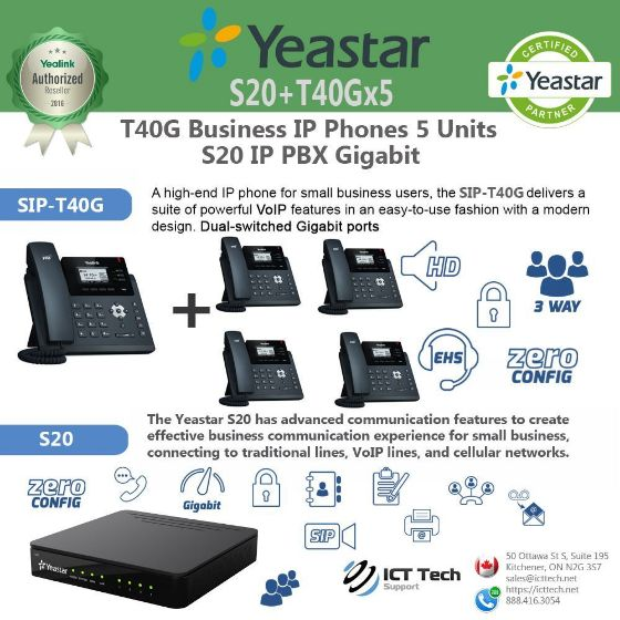 Picture of ICTT40Gx5S20 - T40G x 5 System Bundle