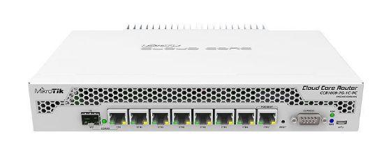Picture of MikroTik CCR1009-7G-1C-PC 7x Gigabit Ethernet, 1x Combo port (SFP or Gigabit Ethernet)