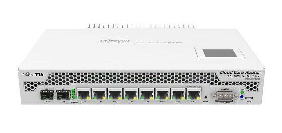Picture of MikroTik CCR1009-7G-1C-1S+PC Cloud Core Router