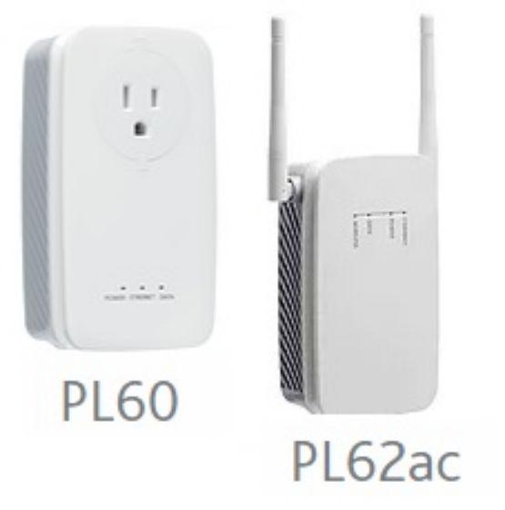 Picture of SmartRG PL60/PL62ac HomePlug (Powerline) AV2 adapater kit