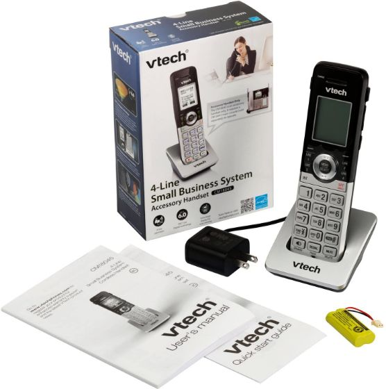 Picture of V-Tech CM18045 Analog DECT Silver / Black DECT telephone